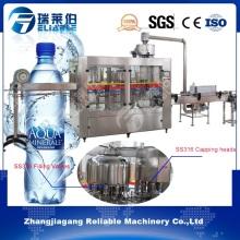Botella de plástico automático de llenado de agua pura máquina de taponar Fabricante