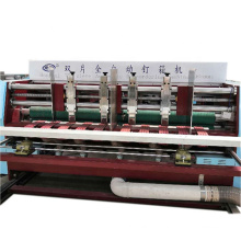 Automatic corrugated carton boxes stitching /nailing & gluing packing machine