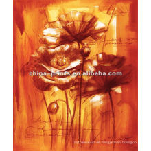 Neue Art-Malereien Abstrakte Blumen auf Leinwand