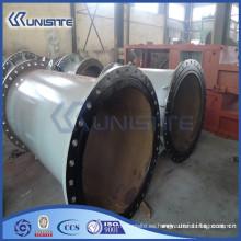 Personalizado de desgaste grueso tubo de acero resistente para el dragado (USC7-003)