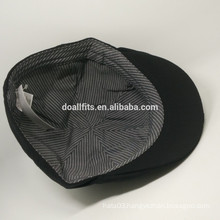 plain and inner stripe ivy cap made in china