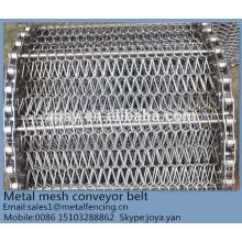 Compound Balance Säure-Base-resistente Schnellgefrier Lebensmittelindustrie verwendet Metalldrahtgewebe Webart Förderband