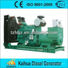 500KW water-cooled open type CUMMINS diesel generator