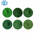 Manufacturer supply high purity 98% green color iron oxide pigment fe2o3