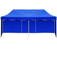 3m X 6m Blue Folding Outdoor Gazebo Marquee