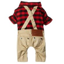 Vêtements pour animaux de compagnie Salopette Pantalon Combinaison Petit