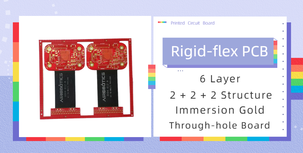 6-Layer Through-hole Rigid-flex PCB
