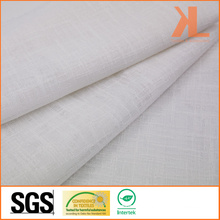 Polyester Plain White Wide Width Inherently Flame Retardant Fireproof Voile