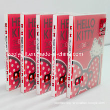 Customize Logo Printing Plastic PP / PVC Photo Albums with Clear Protective Holder