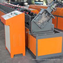 Automatique automatique notching feu de sécurité galvanisé en acier en aluminium en métal porte de sécurité châssis rayonnant formant la machine