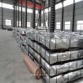 Matériau de construction de feuille de toiture en acier ondulé laminé à froid