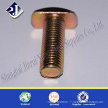 Fabriqué en Chine Boulon en T torréfié ASME B 18.5
