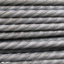 Barra de aço com fio de aço 7 MM para protensão