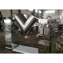 2017 V series mixer, SS emulsion blender, horizontal turbula blender