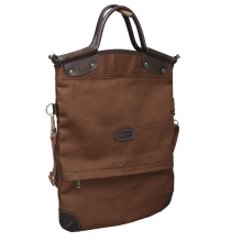 High Quality Canvas and Leather Handbag Casual Large Capacity Bag Hot Sell Female Totes Shoulder Bag