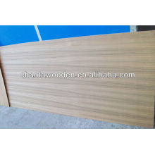 Linyi natural burma teca folheado fantasia madeira compensada (1.6mm, 2.0mm, 2.4mm / 3.0mm / 3.3mm / 3.6mm / 5.2mm)