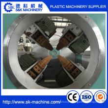 Ligne d'extrusion en plastique pour PVC