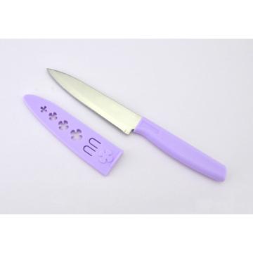 Aço inoxidável Utility Paring Fruit Knife com Bainha