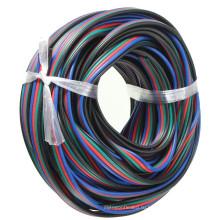 оптовая 4-Контактный RGB расширение провода кабель для RGB 5050 3528 светодиодные полосы