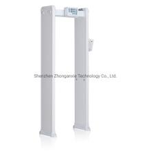 Infrared Human Body Temperature Measurement Scanner Walk Through Fever Metal Detector Door Pictures & Photos Infrared Human Body Temperature Measurement Scan