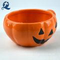 Halloween Theme Pumpkin Ceramic Tableware Set