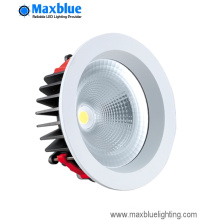 15W 95mm White Round COB LED Downlight Kits