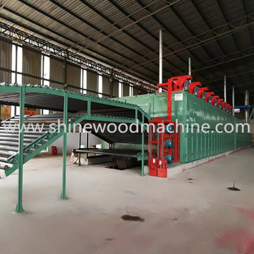 Shine Core Veneer Dryer Machine