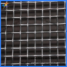 Black Steel Crimped Wire Mesh