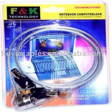 Proteger Notebook Notebook Computer Lock Com 2 teclas