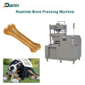 Natutral Hide behandelt Rawhide Bone Pressmaschine