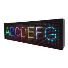 Écran de message de P8 sept couleurs de 4 chiffres LED
