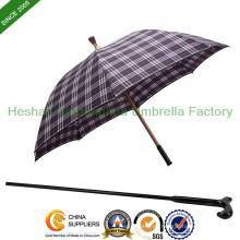 Unzerbrechlichen doppelten Zweck Regenschirm Spazierstock (SU-0023AAFA)