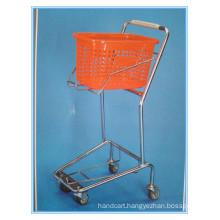 Zinc Plated Hand Shopping Carts