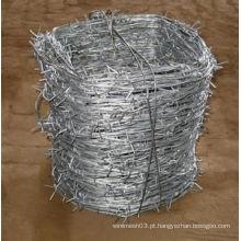 Arame farpado galvanizado / eletro arame farpado galvanizado fabricação