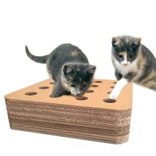 Caja de rompecabezas de juguete de gato