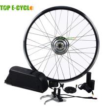 TOP / OEM CE approuvé usine fourniture directe 26inch 350w kit de moteur de vélo