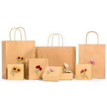 Neue Design Benutzerdefinierte Kraftpapier Tasche für Geschenk