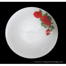 Hot sale high quality microwave safe ceramic bowl