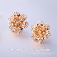 Rose Gold Ohrringe Großhandel Ohrringe und traditionelle Märkte Rhodium überzogene Schmuck ist Ihre gute Wahl