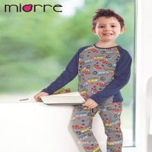 Miorre Оптовая продажа OEM 100% хлопок дети мальчик смешной автомобиль печать пижамы пижамы комплект