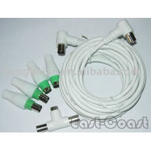 tv cable with adapter