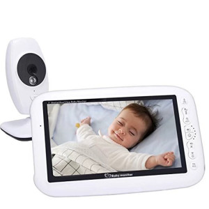 Night Vision Audio Video 7inch Baby Monitor Wireless