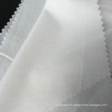 Entoilage fusible adhésif en polyester Microdot