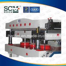 Máquina caliente de la estampación de la hoja de cuero / transferencia de calor de cuero
