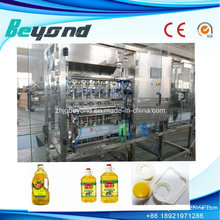 Auto PLC Control Oil Filling Machine with 6heads (1000bph)