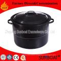 Sunboat 33qt Enamel Stock Pot Cookware /Enamel Steamer