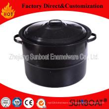 Utensilios de cocina del pote de la acción del esmalte de Sunboat 30qt modificados para requisitos particulares