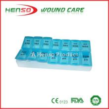 HENSO Plastic 14 Day Pill Box