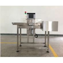 Machine de contrôle de poids pour boîtes