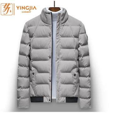 Winter Herren warme Baumwolle Slim Thick Zipper Coat